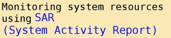 Automate CPU utilization metrics (from SAR)