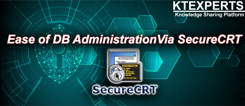 Ease of DB Administration Via SecureCRT