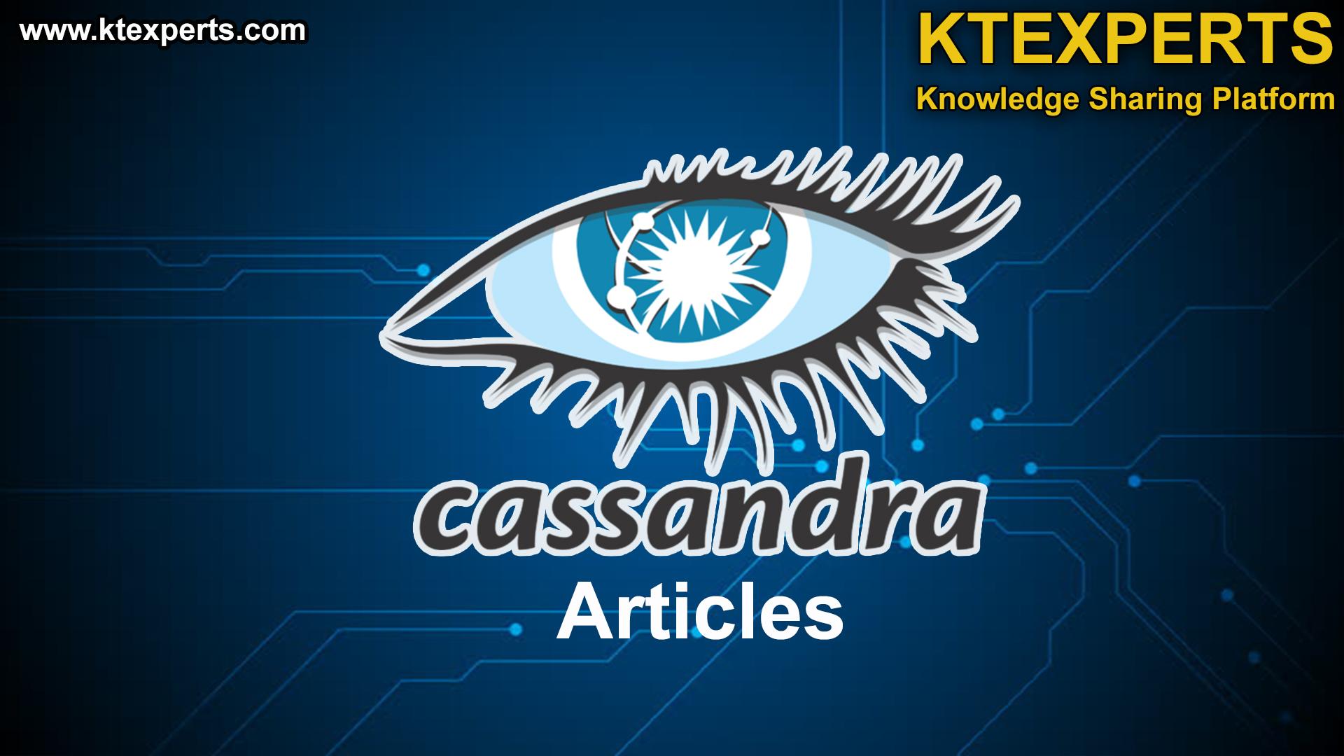 CASSANDRA ARTICLES.