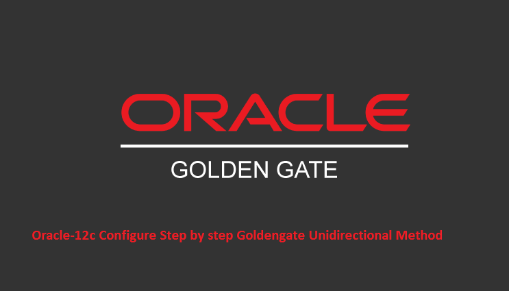 GoldenGate: Oracle to Oracle GoldenGate Unidirectional Replication
