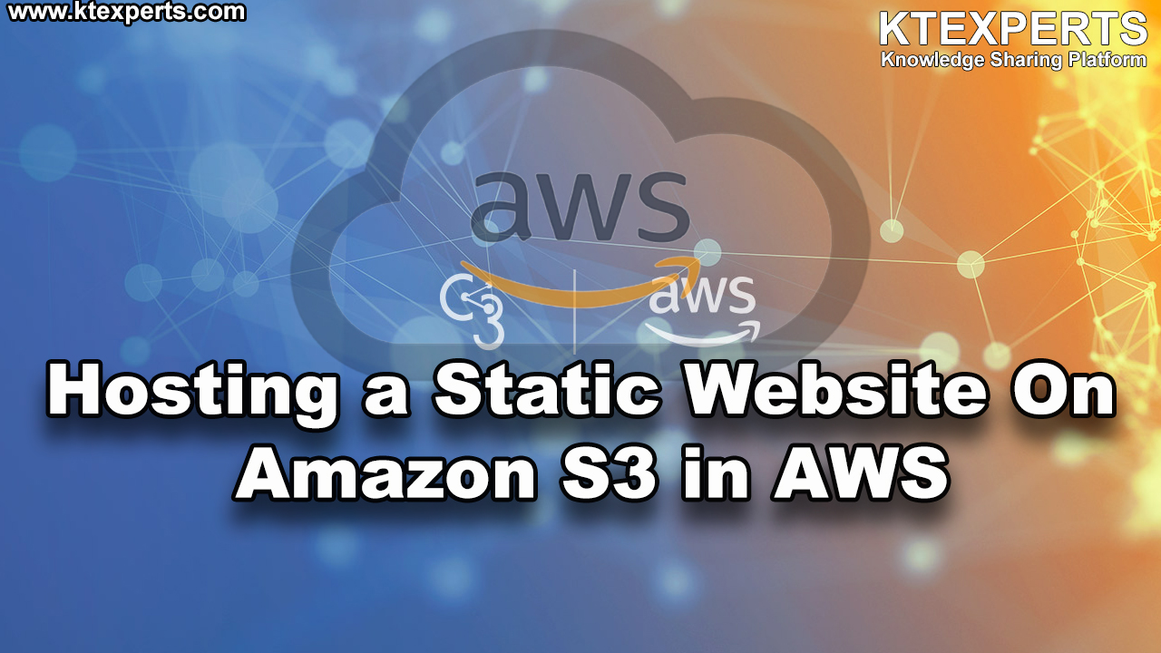 Hosting a Static Website On Amazon S3 in AWS