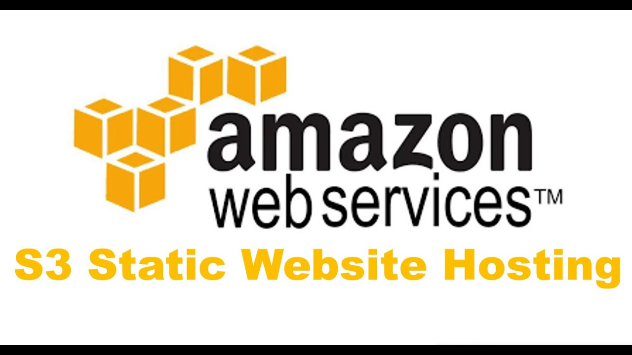 Hosting a Static Website On Amazon S3 in AWS (Amazon Web Services)