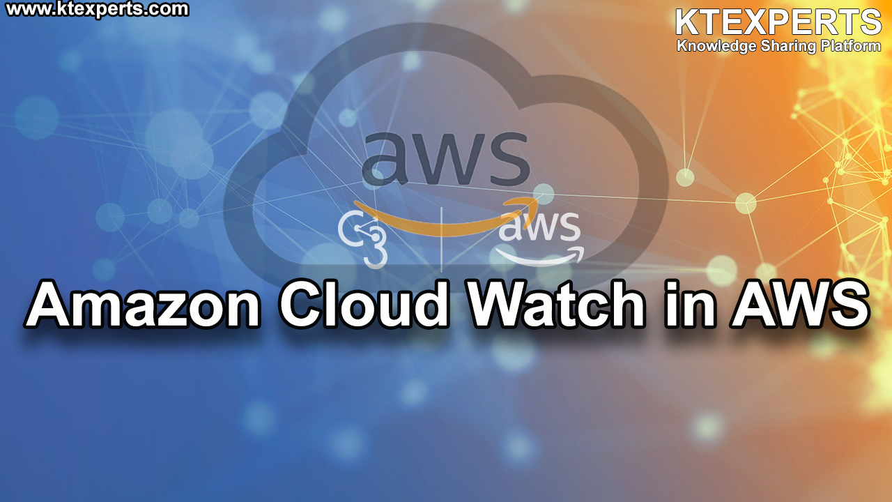 Amazon CloudWatch in AWS