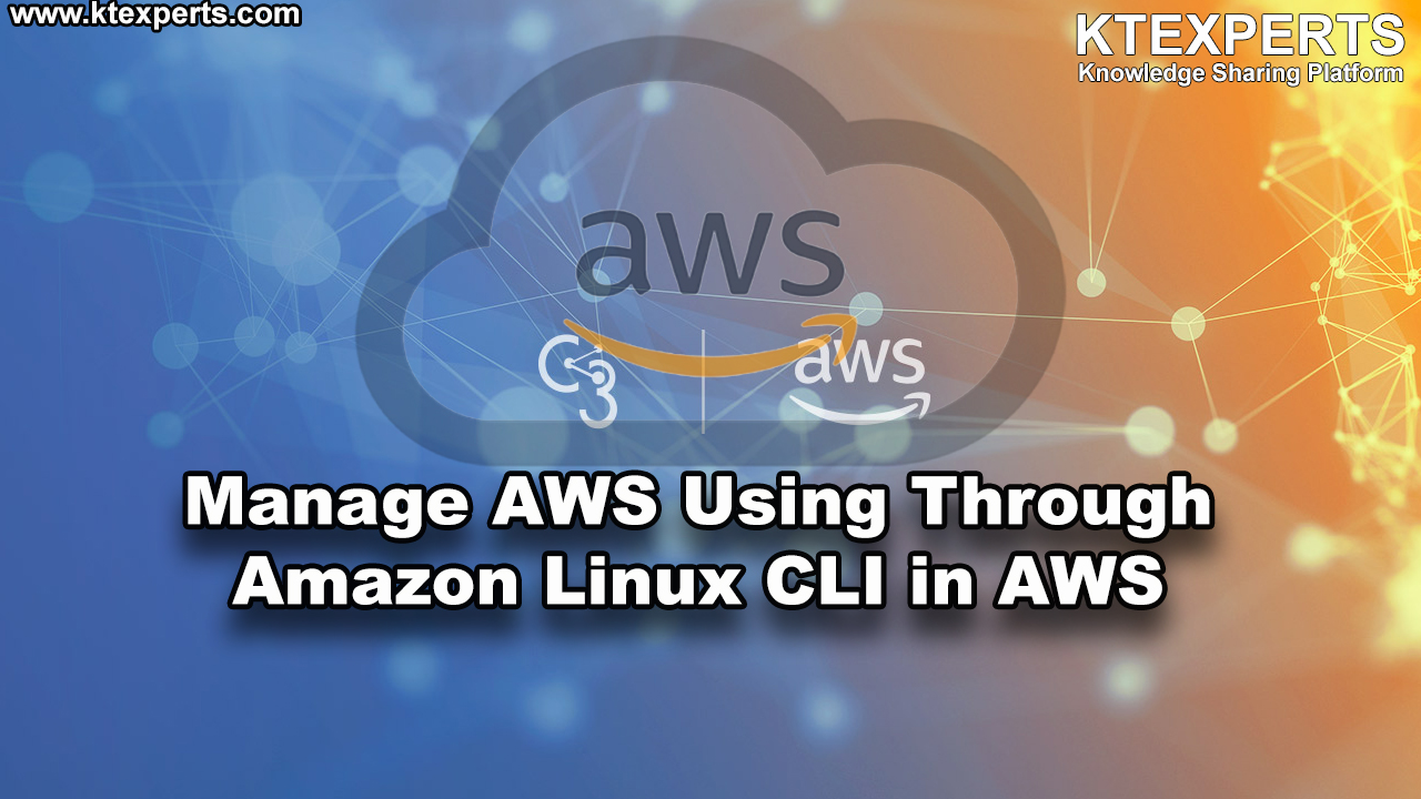 Manage AWS Using Through Amazon Linux CLI in AWS