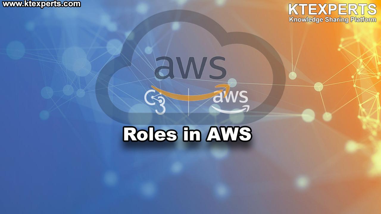Amazon IAM Roles in AWS