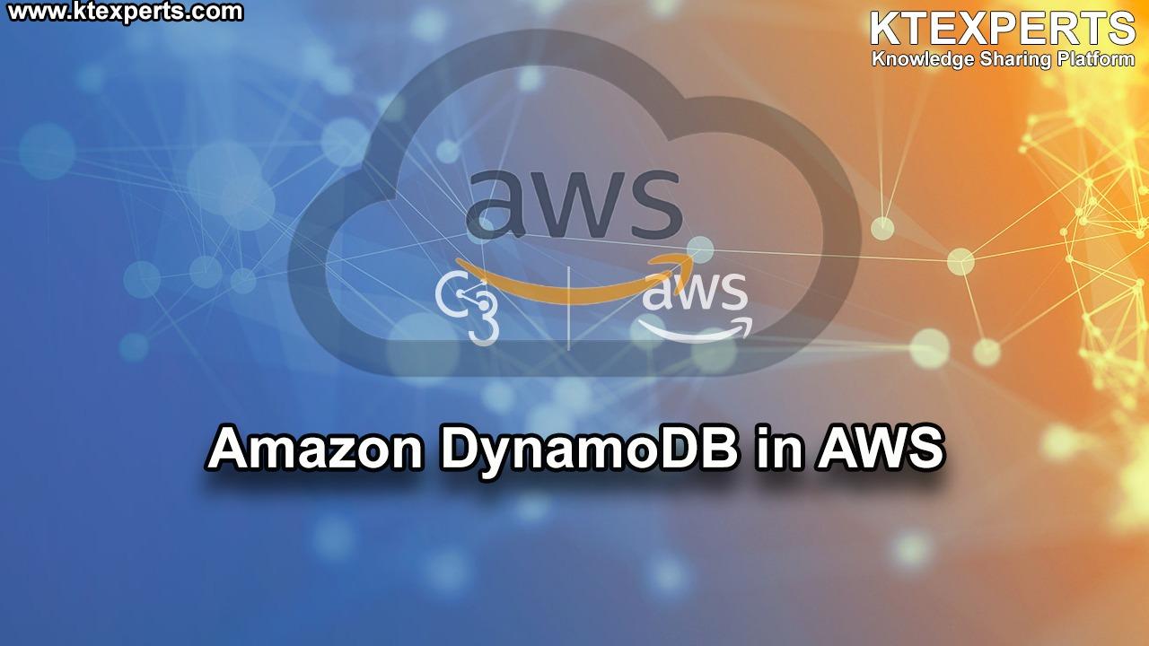 Amazon DynamoDB in AWS