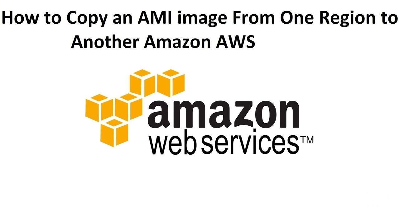 How to Copy AMI between Regions and Launch Instance From AMI in AWS (Amazon Web Services)
