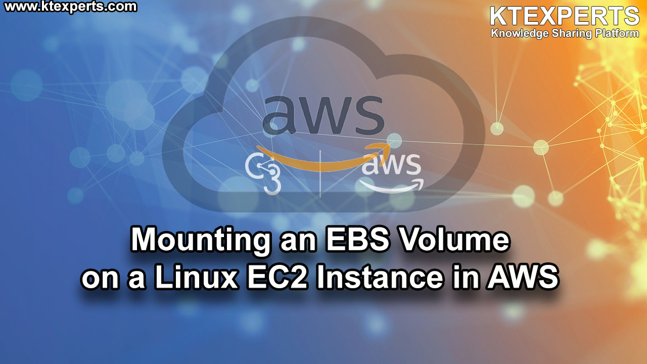 Mounting an EBS Volume on a Linux EC2 Instance in AWS