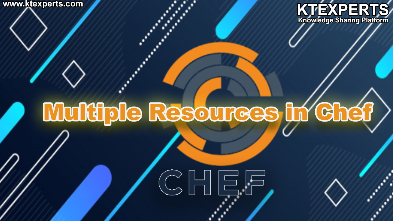 Multiple Resources in Chef