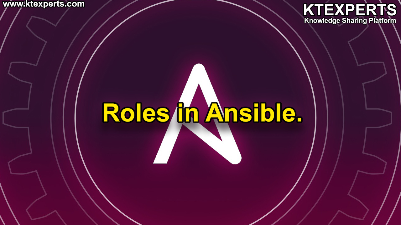 Roles in Ansible