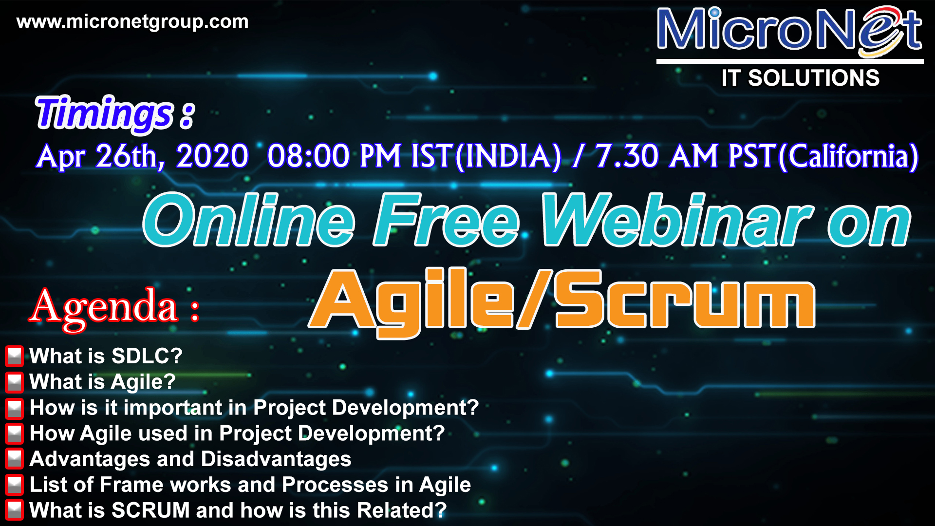 Introduction to Agile/Scrum