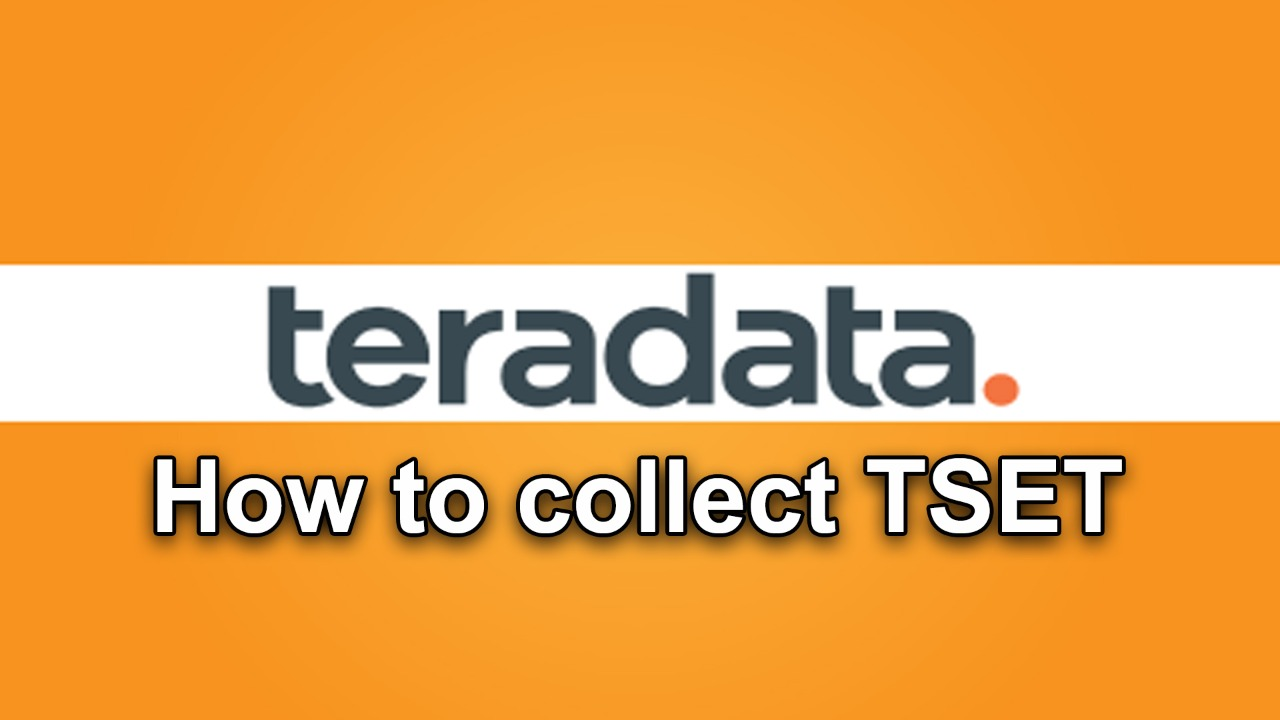 How to collect TSET