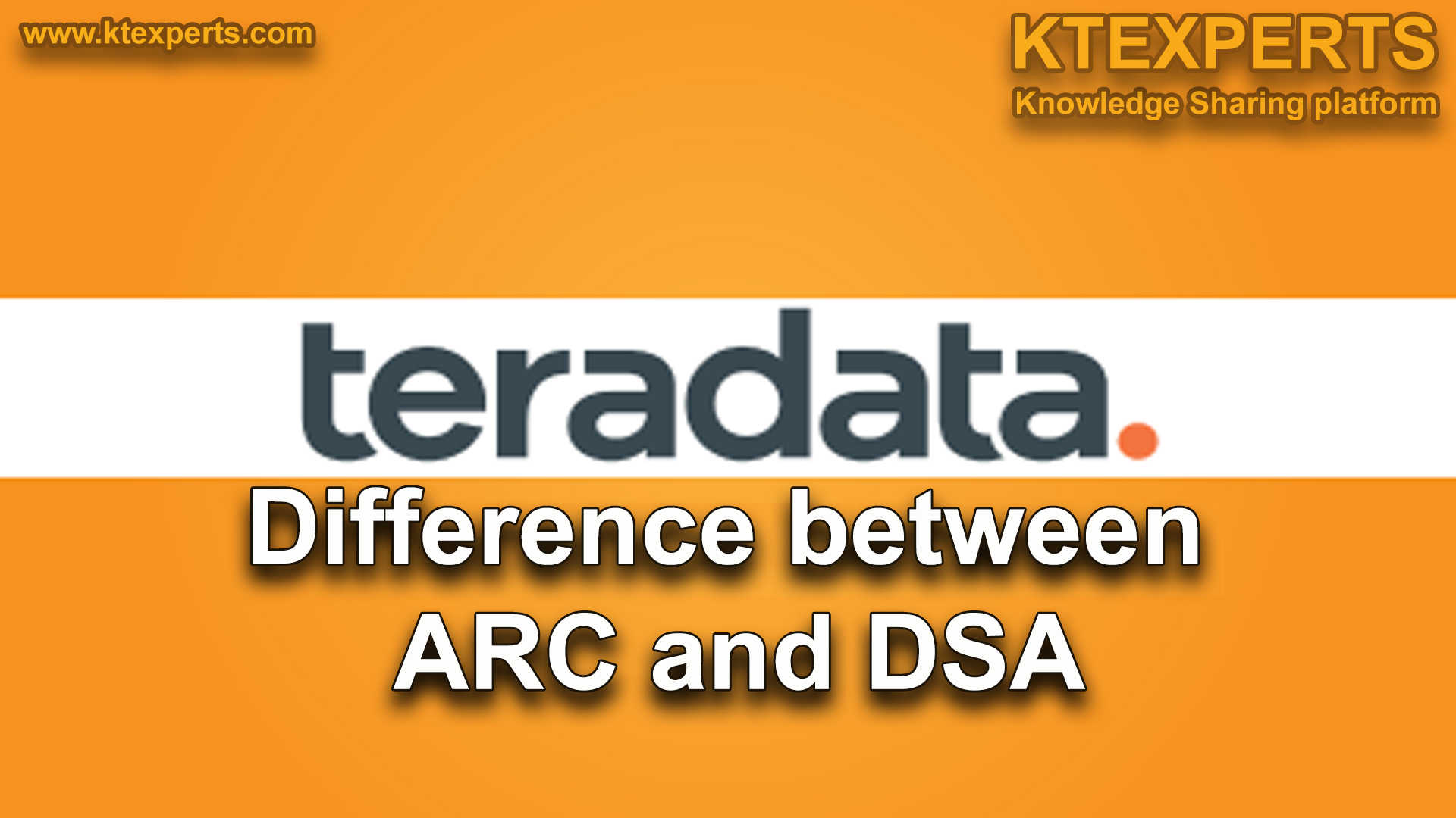 Difference between ARC and DSA