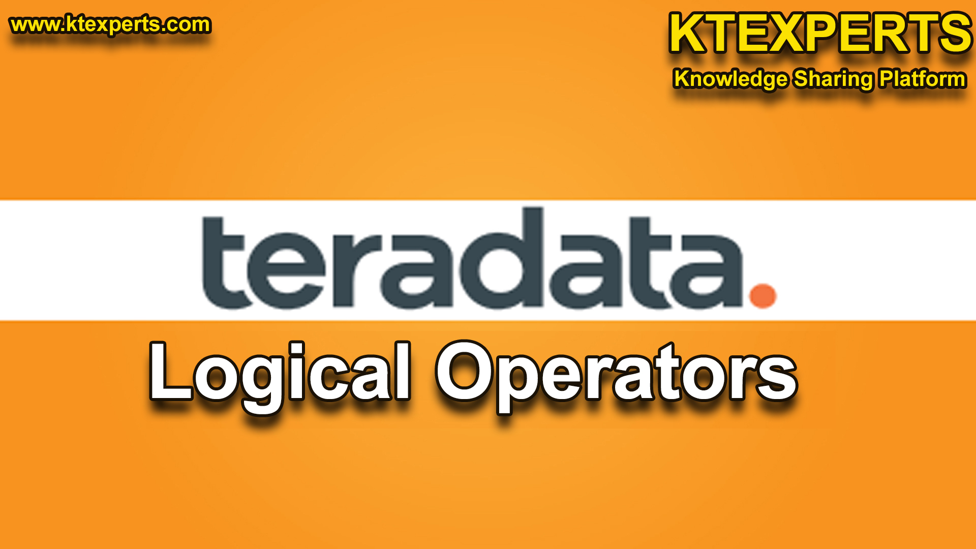 Teradata Logical Operators