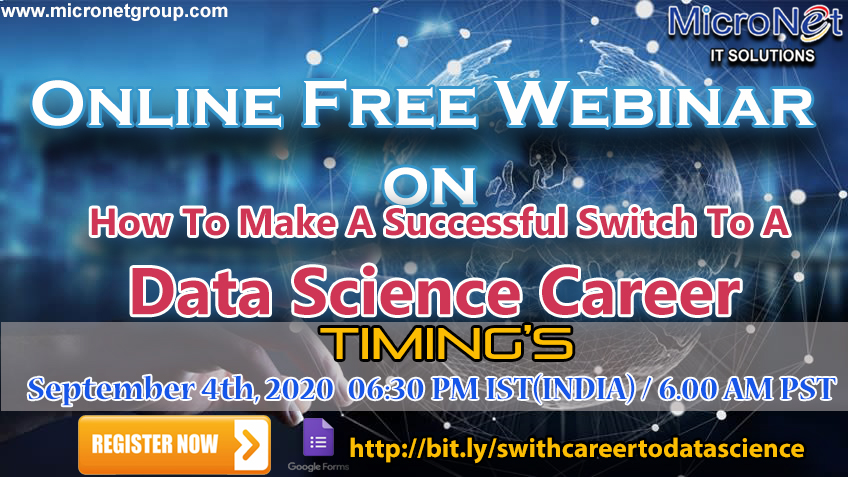 How To Make A Successful Switch To A Data Science Career