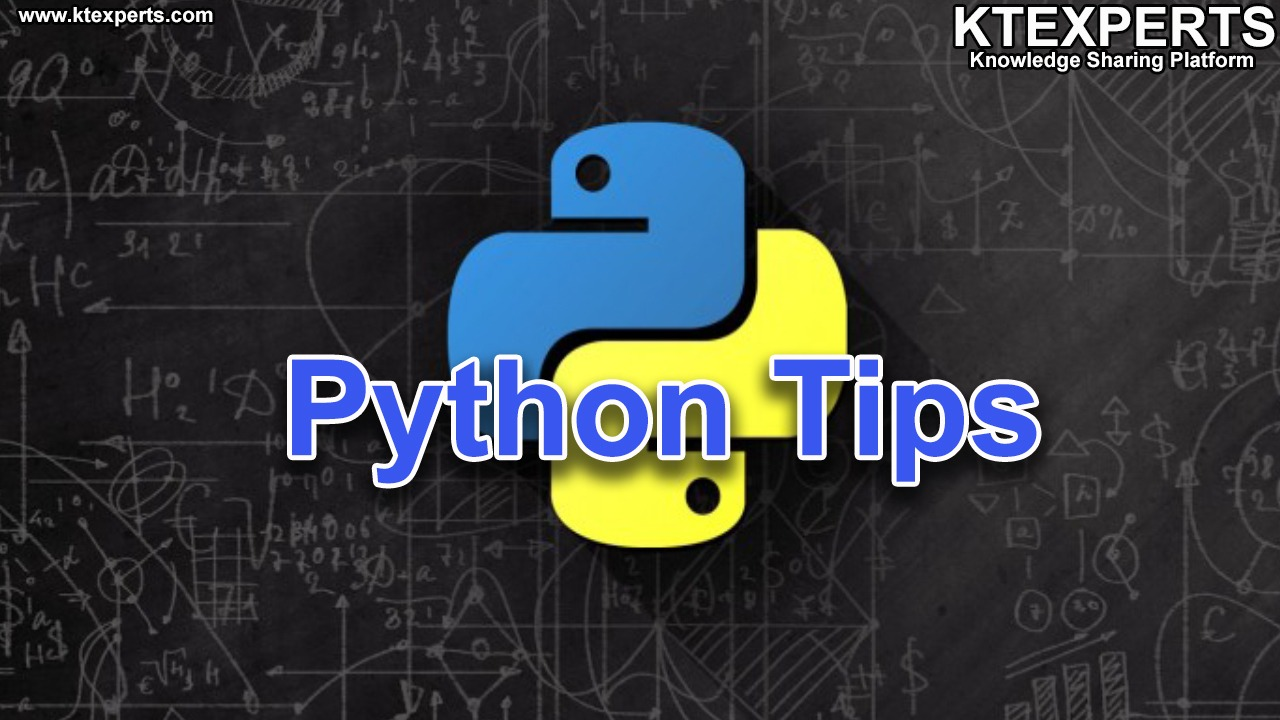 Daily Tips for Python