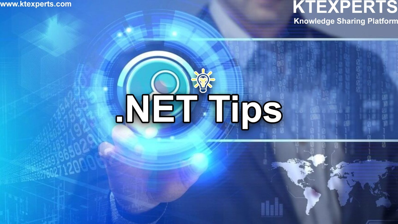 Daily Tips for .NET