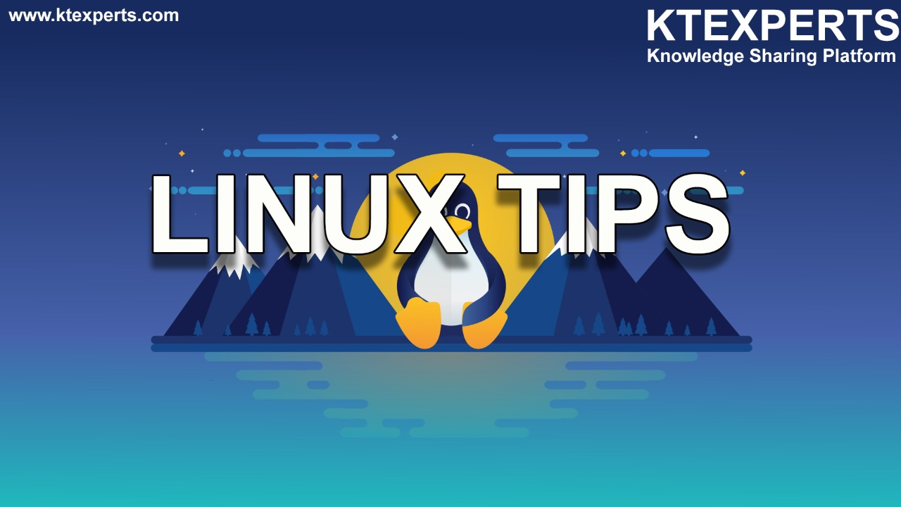 Daily Tips for Linux